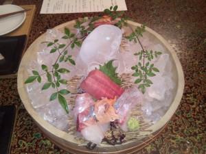 糸島海の幸のお刺身
